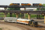 BNSF and KCT Trains